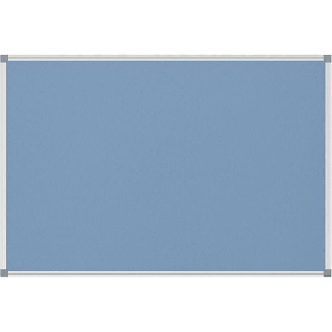 MAUL Pinnboard MAULstandard Textil, 60 x 90 cm  - hellblau - Bild 1