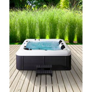 Home Deluxe Outdoor-Whirlpool Beach inkl. Treppe und Thermoabdeckung - Bild 1