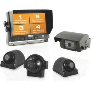 LUIS R7-S Quad Rückfahrsystem mit 4 Kameras - Bild 1