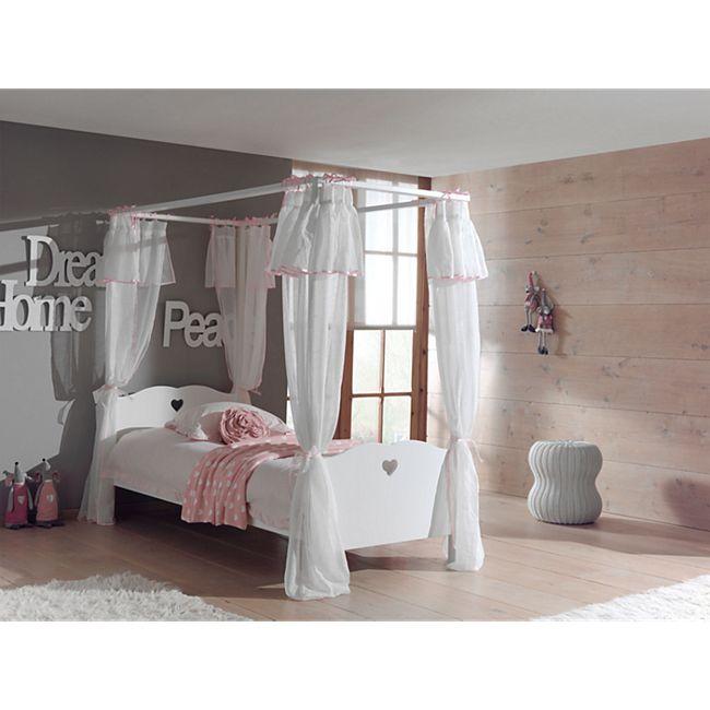 Vipack Bettvorhang Amori für Himmelbett 90x200 - Bild 1