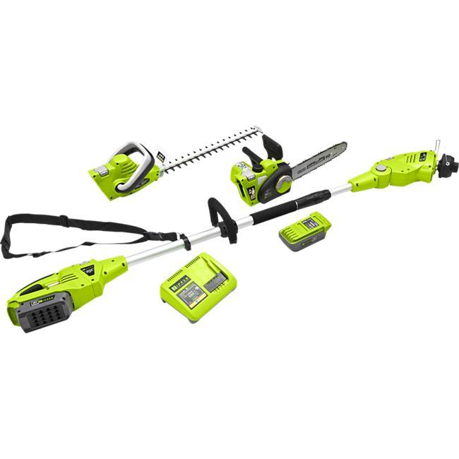Zipper ZI-GPS40V Akku-Gartenpflege-Set - Bild 1