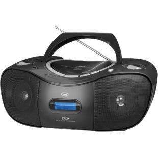 Trevi CMP 582 DAB Boombox mit CD, USB, DAB, DAB+ - schwarz - Bild 1