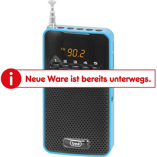 Trevi DR 730 M portables AM/FM-Radio - blau - Bild 1