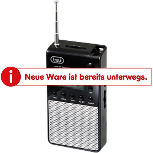 Trevi DR 735 portables AM/FM-Radio im nostalgischen Design - schwarz - Bild 1