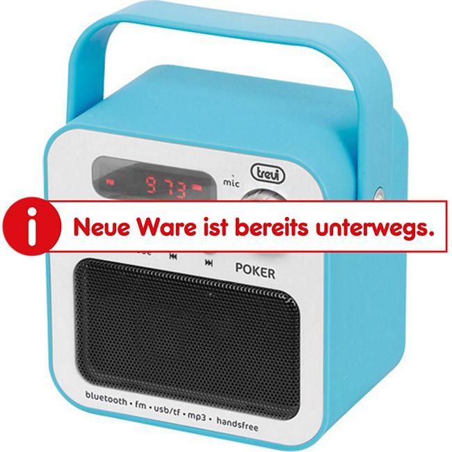 Trevi DR 750 BT tragbares Radio - blau - Bild 1