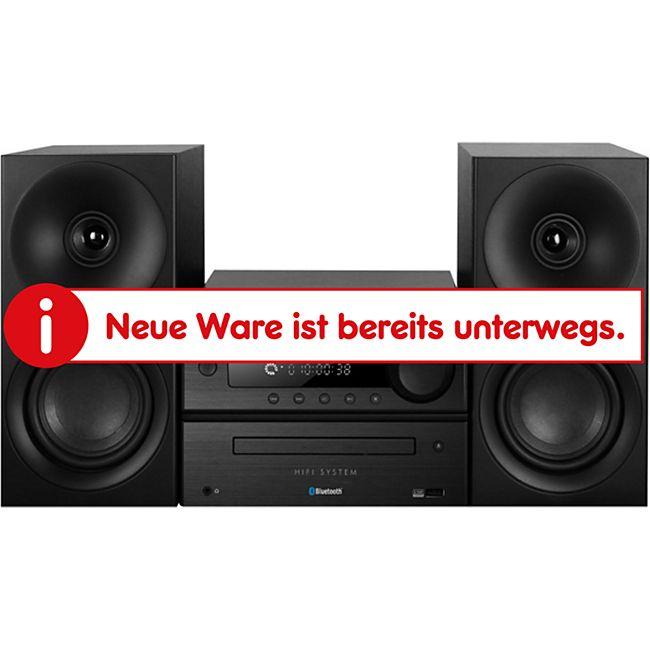 Trevi HCX 1080 BT Musikanlage mit CD/MP3/Bluetooth - schwarz - Bild 1
