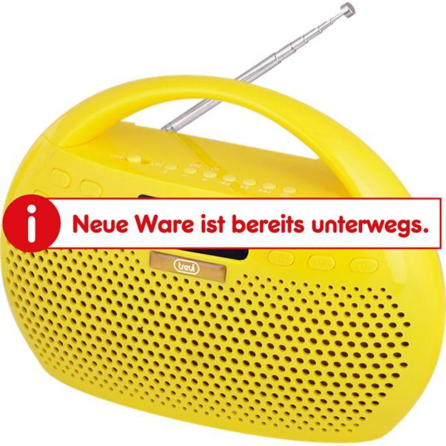 Trevi KB 308 BT Stereo-Radio mit Bluetooth - gelb - Bild 1