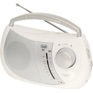 Trevi RA 764 portables 2 Band AM/FM-Radio im trendigen Design - weiß - Bild 1