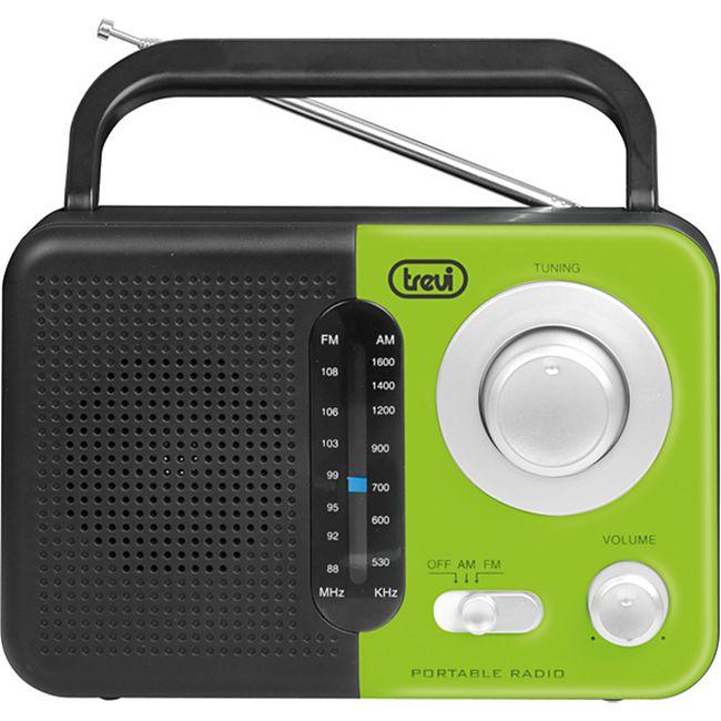 Trevi RA 768 S portables 2 Band AM/FM-Radio - grün - Bild 1