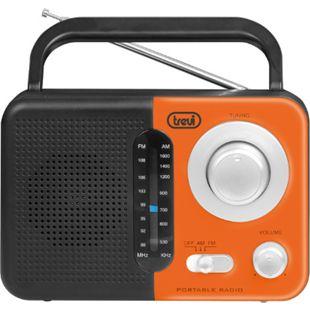Trevi RA 768 S portables 2 Band AM/FM-Radio - orange - Bild 1