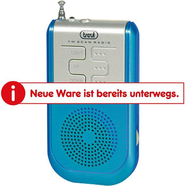 Trevi RS 733 portables AM/FM  Radio - blau - Bild 1