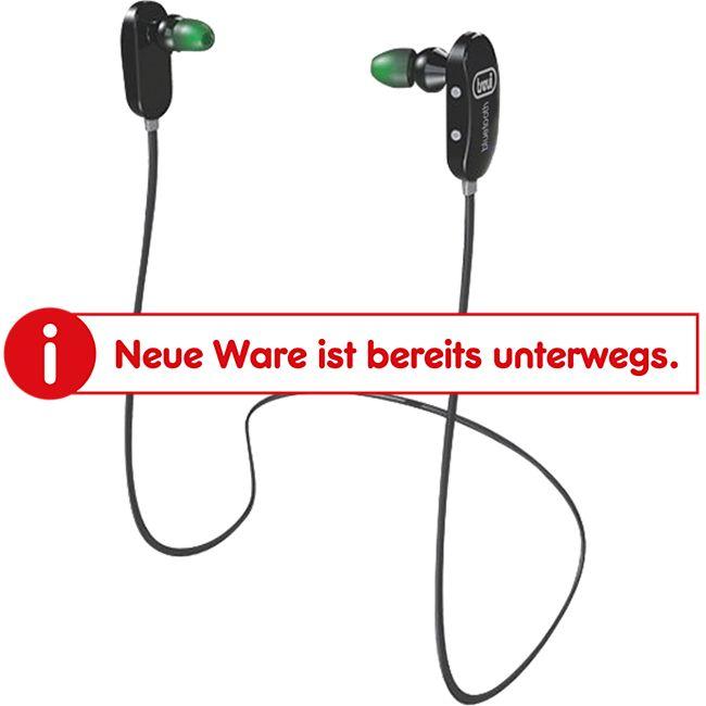 Trevi HMP 1245 BT Bluetooth In-Ear Sportkopfhörer - schwarz - Bild 1