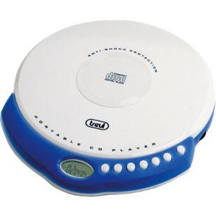 Trevi CMP 498 portabler CD-Player mit MP3 - weiß - Bild 1