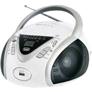 Trevi CMP 542 Boombox mit CD, MP3, FM-Radio - weiß - Bild 1