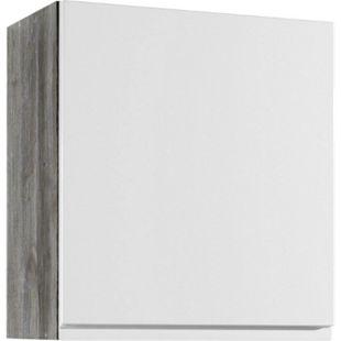 Held Möbel Hängeschrank Cardiff 50 cm Hochglanz Weiß - Bild 1