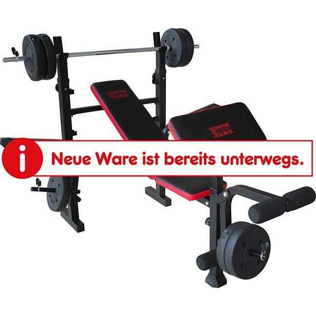 Motive Fitness by U.N.O. Hantelbank BRONX - Bild 1