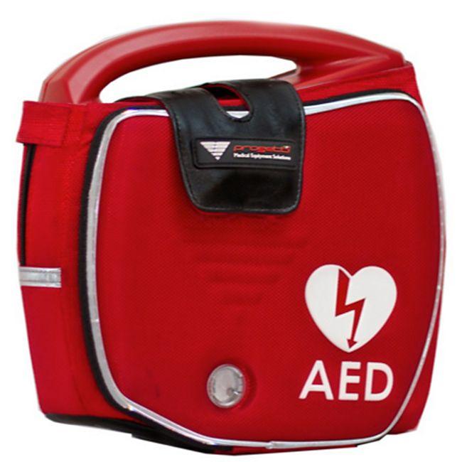Progetti Rescue SAM AED Vollautomat mit Funktionstasche und Wandhalterung, 5 Jahre Hersteller-Garantie - Bild 1