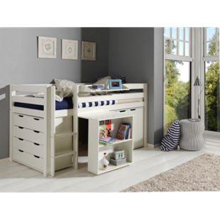Vipack Furniture Spielbett Pino 1, weiß - Bild 1