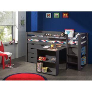 Vipack Furniture Spielbett 3 Pino, taupe - Bild 1
