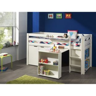 Vipack Furniture Spielbett 4 Pino, weiß - Bild 1