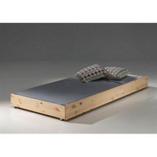Vipack Furniture Bettschublade Pino, natur - Bild 1