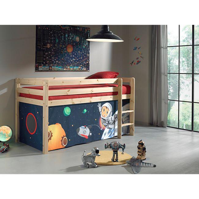 Vipack Furniture Spielbett Spaceman, natur - Bild 1