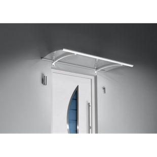 Gutta Pultvordach mit LED-Technik, 150 x 90 cm, weiß - Bild 1