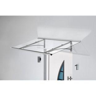 Gutta Typ PT/GR Edelstahl-Pultvordach, 160 x 90 cm, gerade - Bild 1