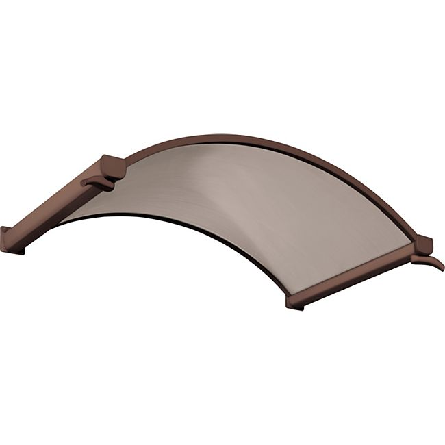 Gutta Typ NO Bronce Rundbogenvordach, 160 x 90 cm, braun - Bild 1