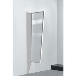Gutta Typ B2/PC Vordach-Seitenteil klar, 175 x 60 cm, weiß - Bild 1