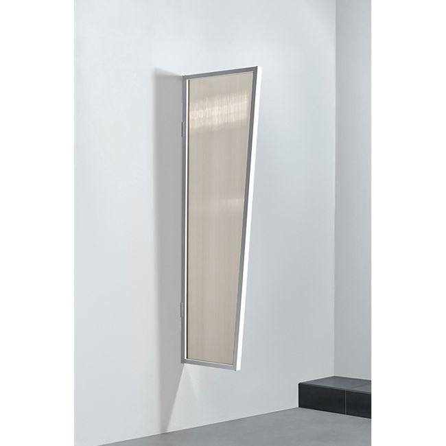 Gutta Typ B2/PC Vordach-Seitenteil bronce, 175 x 60 cm, weiß - Bild 1