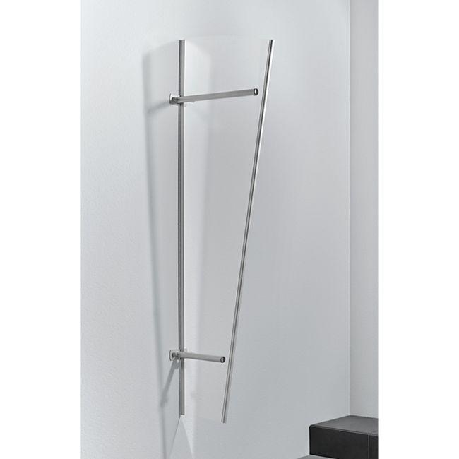 Gutta Typ PT/G Vordach-Seitenteil Edelstahl, 185 x 60 cm, acryl - Bild 1