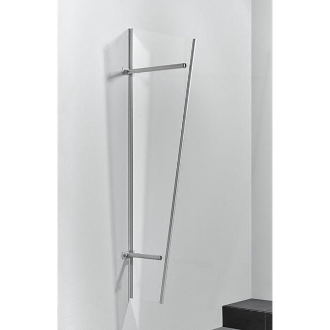 Gutta Typ PT/GR Vordach-Seitenteil Edelstahl, 185 x 60 cm, acryl - Bild 1
