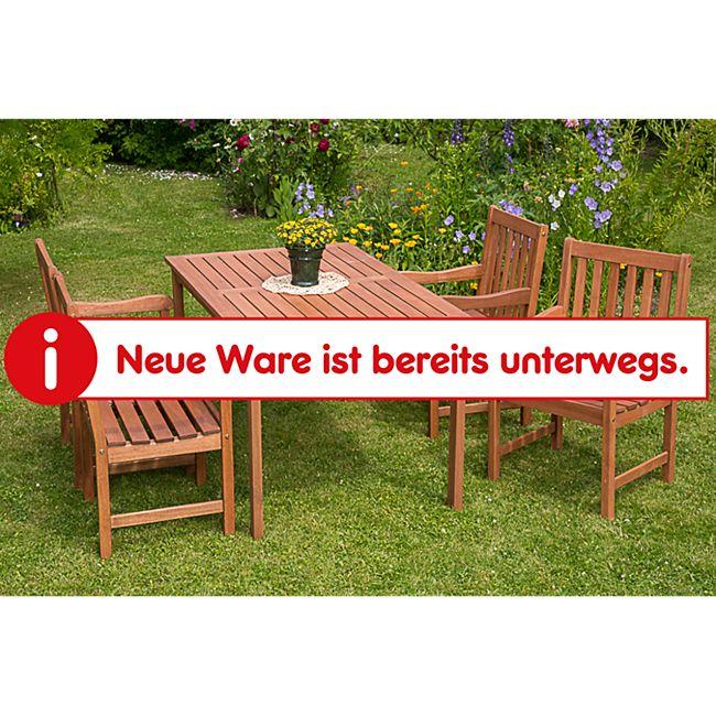 Merxx Tischgruppe Santos 5-tlg., mit 4 Sessel und Tisch 150x90cm - Bild 1