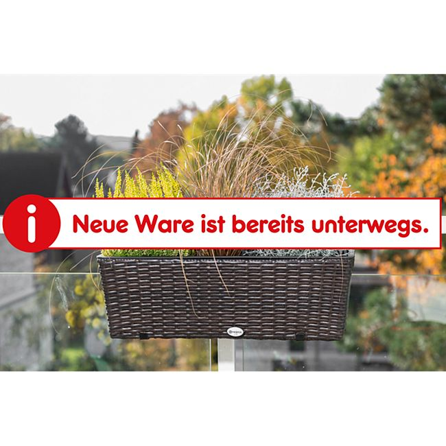 Merxx Blumenkasten, braun - Bild 1