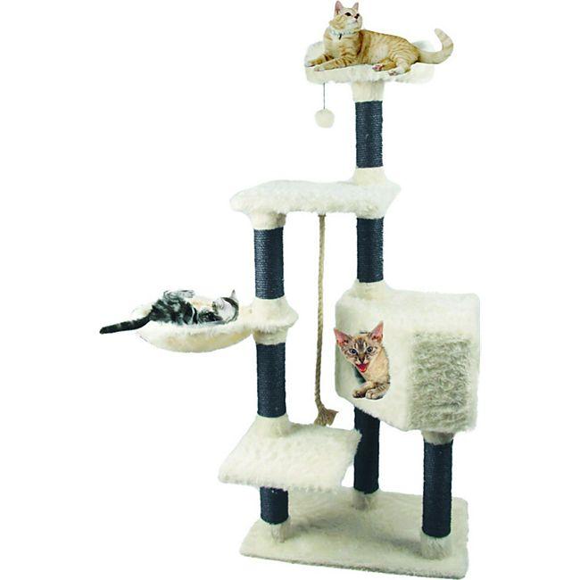 Heim Kratzbaum White Cat 2 - Bild 1