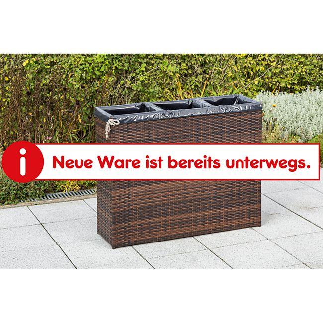 Merxx Pflanzkasten Kunststoffgeflecht - Bild 1