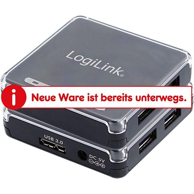 LogiLink UA0152 USB 3.0 HUB, 4-Port - Bild 1