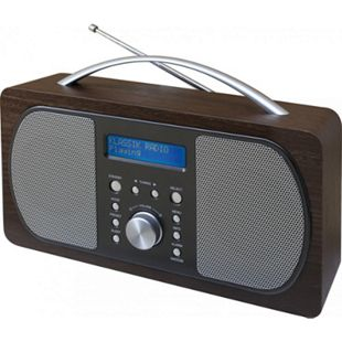 Soundmaster DAB600DBR DAB+/UKW Digitalradio - dunkelbraun - Bild 1