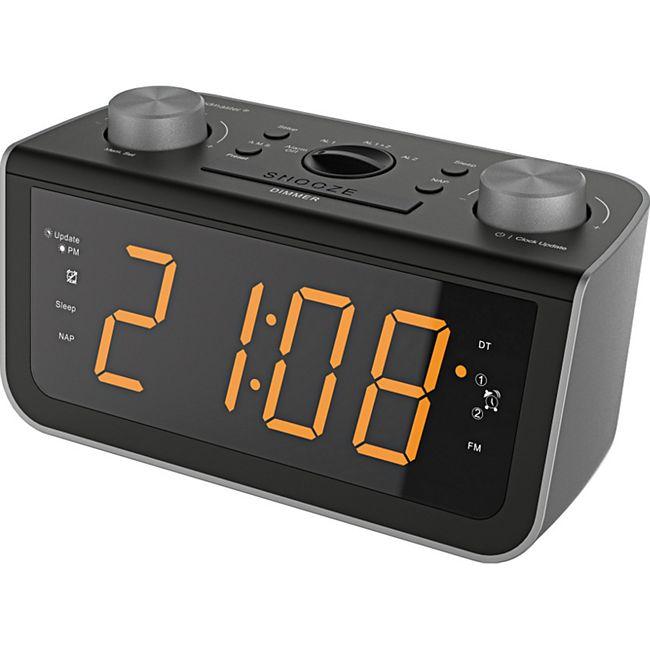 Soundmaster FUR5005 UKW PLL-Uhrenradio mit Jumbo Display und automatischer Uhrzeiteinstellung - Bild 1