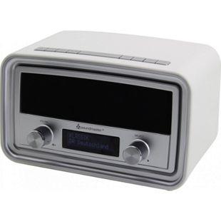 Soundmaster UR190WE DAB+/ UKW Uhrenradio mit USB Ladebuchse - weiß - Bild 1