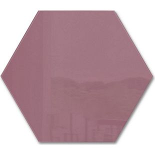 sigel GL282 Glas-Magnetboard artverum 40 x 46 x 1,5 cm - Smoky-Red - Bild 1