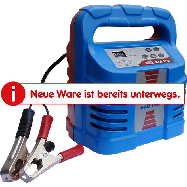 Güde GAB 15A Automatik Batterielader - Bild 1