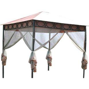 LECO Moskitonetze zum Pavillon Safari, 4er-Set - Bild 1