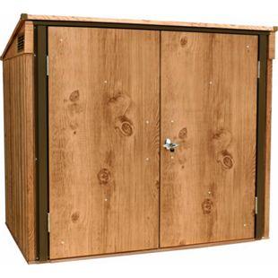 Tepro Mülltonnenbox, Holz-Dekor, eiche - Bild 1