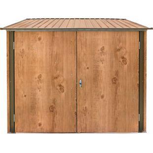 Tepro Fahrradbox Holz-Dekor, Eiche - Bild 1