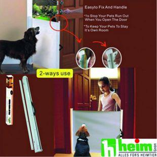 Heim Hunde-Absperr-Tür weiß - Bild 1