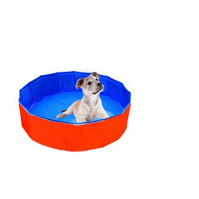Heim Hunde Swimmingpool Outdoor-Dog Ø  120 x 30 cm - Bild 1