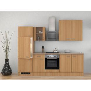 Flex-Well Küchenzeile 270 cm G-270-2209-015 Nano - Bild 1