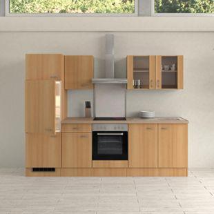 Flex-Well Küchenzeile 270 cm G-270-2207-003 Nano - Bild 1